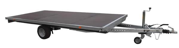 Flat trailer - 2 990 EUR+vat